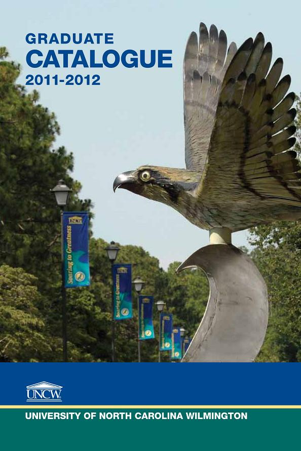 University of North Carolina Wilmington - Acalog ACMS�